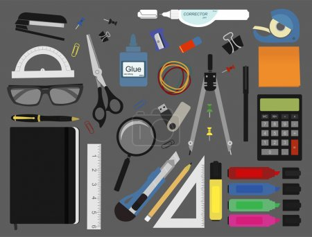 Stationery tools set