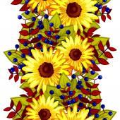 Abstraktní vzor květinové prvky