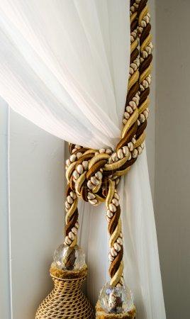 Curtain Tassels on Curtain