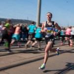 Prague, Czech Republic. 05-08-2016. Runners from a...