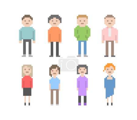 Pixel People Set