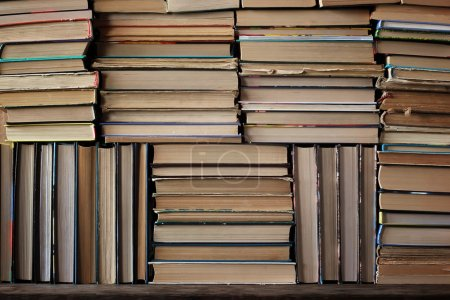 A background from books.
