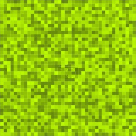 Bright-green-light-mosaic-squares-background