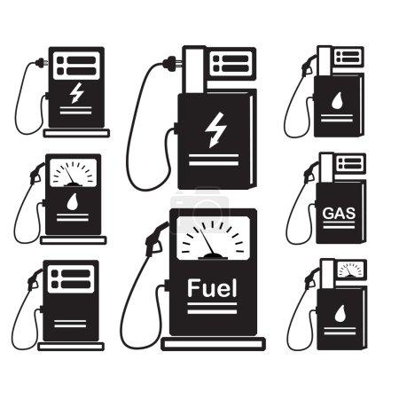 set-of-icons-refueling-car-diesel-gas