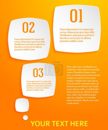 Infographics-template-yellow-background-rounded-square