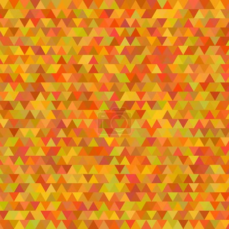 autumn background abstract mosaic triangles Thanksgiving