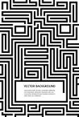 black white maze of magazine pages proportion of A4 size