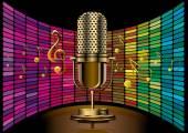 golden microphone model