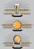 home brew beer emblems