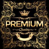 Prémiové kvality zlatý znak
