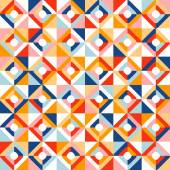Abstract seamless geometric pattern vector illustration