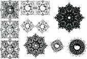 Abstract Vector Pattern textures designs