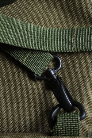 Tactical holdall army bag clasp