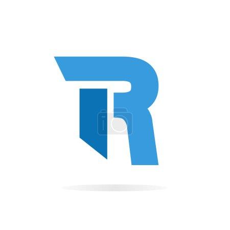 Lettre de logo R pour le modèle de conception vectorielle de l'entreprise .