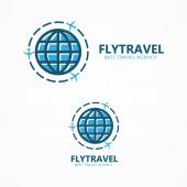 World travel logo