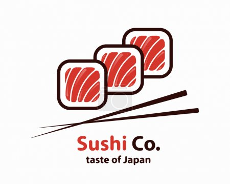 Vector sushi logo or icon