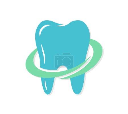 Vector dental logo or icon