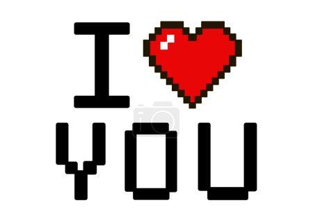 I love you pixel