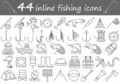 fishing iline icons