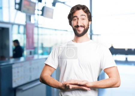 Photo for Young man with funny expression - Royalty Free Image
