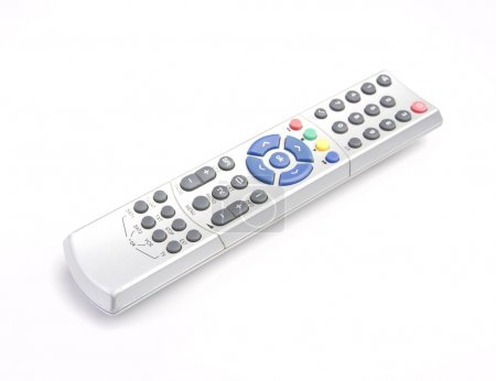 Closeup tv remote