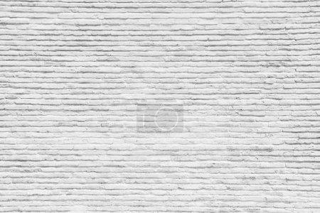 Photo pour Mur blanc brique - image libre de droit