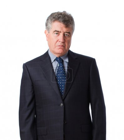 Photo pour Homme d'affaires inquiet - image libre de droit