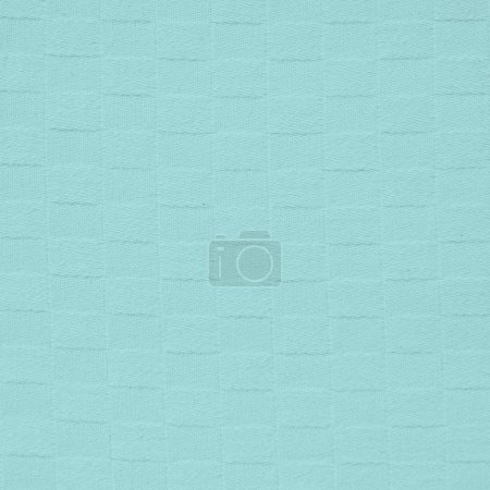 blue square fabric texture.