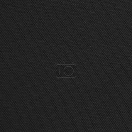 Photo for Black fabric texture - Royalty Free Image