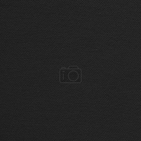 Photo pour Texture tissu noir - image libre de droit