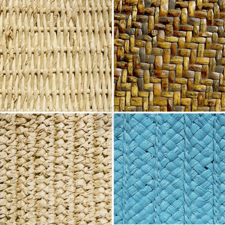group of basket textures