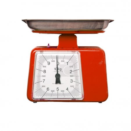 red scale meter
