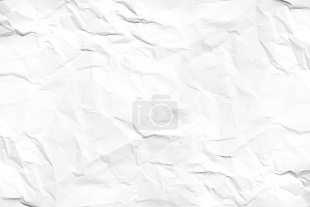 Photo for White wrinkled paper texture - Royalty Free Image