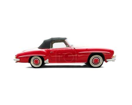 Photo pour Vieux jouet de voiture - image libre de droit