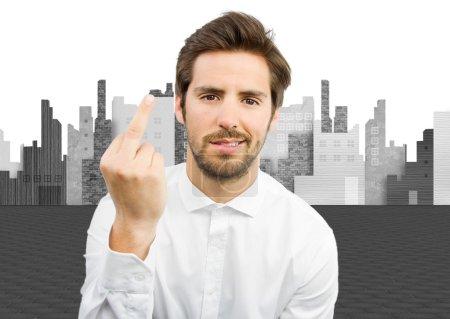 Foto de Pequeños gestos de desacuerdo - Imagen libre de derechos