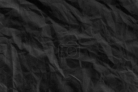 Photo pour Texture de tissu ridée - image libre de droit