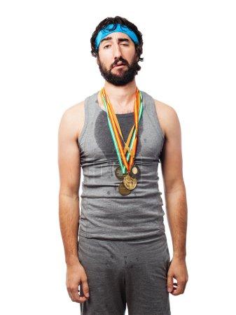 loser sportsman