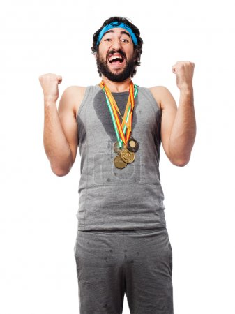 Successful sportsman
