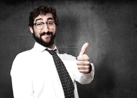 Proud businessman portrait
