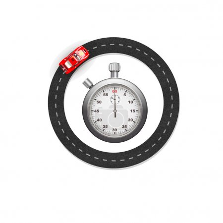 stopwatch and race