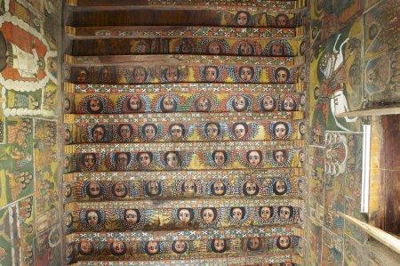Unique paintings in Debre Birhan
