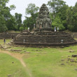 ANGKOR, CAMBODIA - AUGUST 09, 2008: Unidentified t...