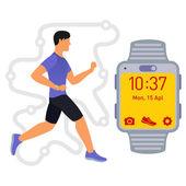 Running Fitness tracker 01