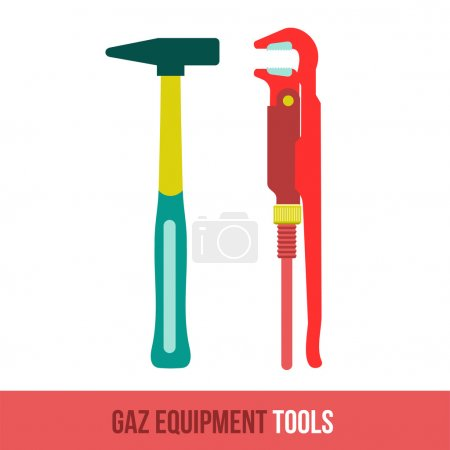 vector flat icon gas equipment