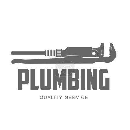 vector logo water, gas engineering, plumbing service