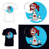 Skeletons T-shirt Crybaby