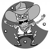 Skeletons T-shirt Western