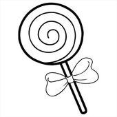 lollipop Isolated illustration on white background
