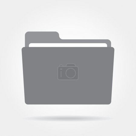 Folder icon on a white background.