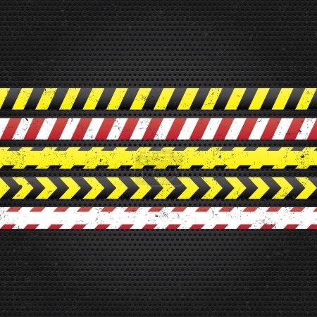 Danger tapes.